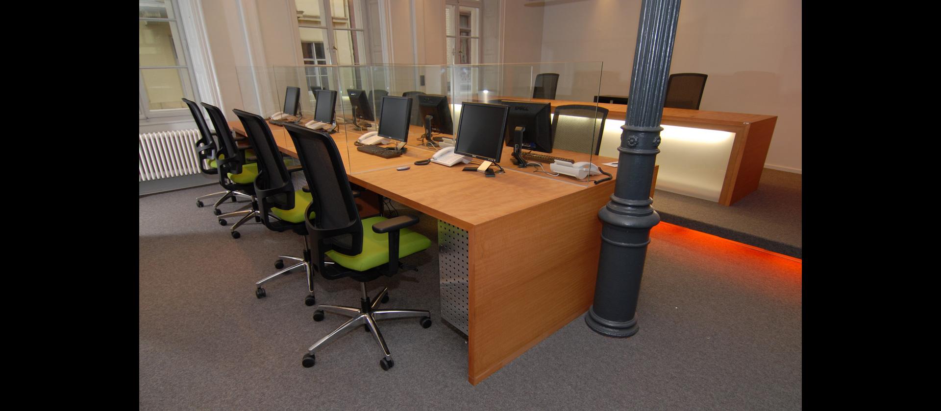 Einrichtung Callcenter Business Möbel Mtb Schreiner