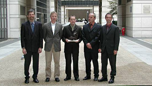 MTB + Koncraft gewinnen European-e-Award 2002 in Paris